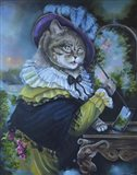 Fancy a Cat Painting