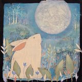 Rabbit and Moon