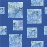 Square Pattern On Dark Blue