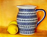 StillLife-Pitcher With Lemons