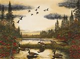 Canada Geese - your walls, your style!