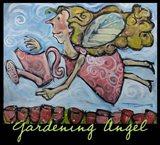 Gardening Angel Poster