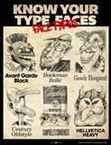 Know Your Type Faces