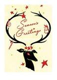 Holiday Reindeer & Sleigh