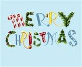 Merry Christmas Blue BG