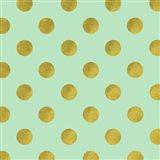 Golden Mint Dots