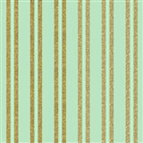 Golden Mint Stripes
