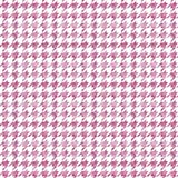 Pink Watercolor Houndstooth