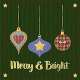 Merry And Bright Folk Art