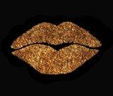 Copper Glitter Kiss