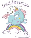 Graceful As A Unicorn Tee