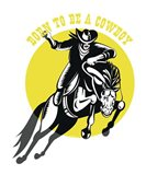 Born to Be a Cowboy Horse n Rider