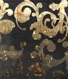 Grungy Gold Damask