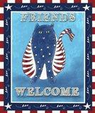 Americana Welcome Kitty