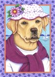 Yellow Lab Sunhat