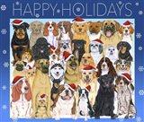 Happy Holidays Dog Group