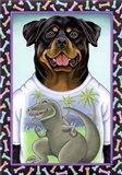Rottweiler Dinosaur
