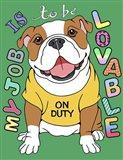Bulldog Graphic Style