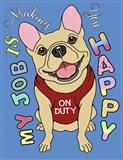 French Bulldog Graphic Style