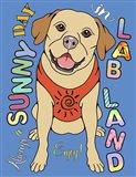 Labrador Graphic Style