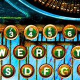 High Contrast Typewriter 2