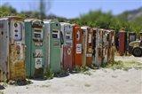 Vintage Gas Pumps Tilt