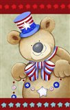 Stars And Stripes Bear