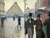 Caillebotte, Paris Street, A Rainy Day