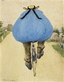 Blue Bicycle Rider