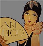 Art Deco Flapper