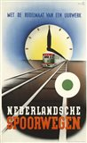 Art deco Railroad Netherlands