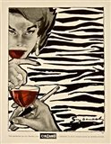 Cinzano Animal Stripes