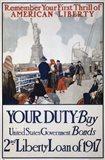 Statue of Liberty 1917