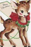 Vintage Xmas Deer