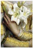 Lilies detail Gustav Pope 1895