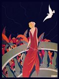 Art Deco Woman 4