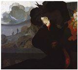 De Feure La Dame Au Chapeau Noir 1899