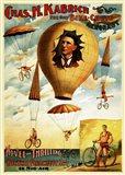 Circus 1882 - Bicycle Parachute Act
