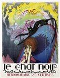 Le Chat Noir by Henri Desbarbieux, 1922