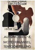 Amsterdam 1930 Automobiel