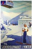 Tjekkoslavakiet I Vinter