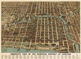Birds Eye Chicago biz district-1898