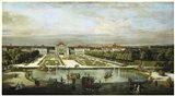 Baroque Nymphenburg Palace By Bernardo Bellotto 1760