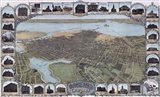 Map Of Oakland California1900