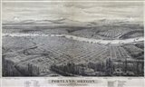 Map Of Portland Oregon 1879
