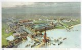 Official Birdseye View World's Columbian Exposition, Chicago 1893