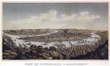 View Of Pittsburgh And Allegheny Pennsylvania 1874