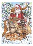 Santa Foxes