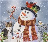 Snowman and Kitten