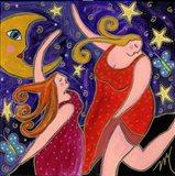 Big Diva Moon Goddesses Dancing